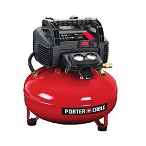 PORTER-CABLE C2002 - Best Small Air Compressors: Best pancake-style pick