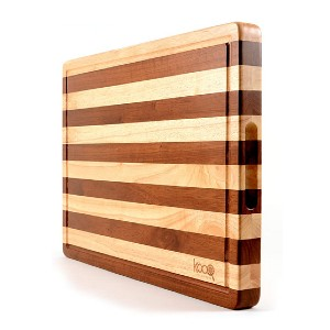 KOOQ Two-Tones Chopping Block - Best Cutting Boards for BBQ: The most beautiful!