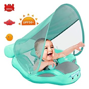 PRESELF Baby Solid Float with Canopy  - Best Floats for Toddlers: No pump needed