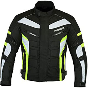 PROFIRST JKT-007 - Best Raincoat for Motorcycle Riders: Removable Lining