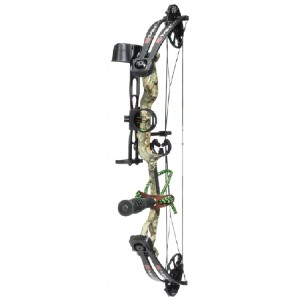 PSE Archery Mini Burner RTS Compound Bow Package - Best Recurve Bow for Youth: Highly Adjustable Bow for Beginning Archers
