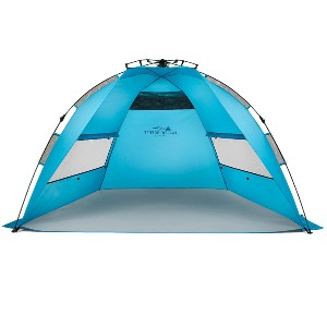 Pacific Breeze Easy Setup Beach Tent - Best Beach Tents for Family: Lightweight Deluxe Tent