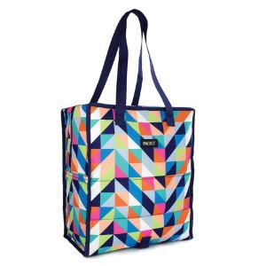 PackIt Freezable Grocery Shopping Tote Bag - Best Washable Shopping Bags: Keep your grocery cool