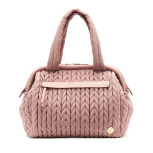 HAPP Paige Carryall Dusty Rose - Best Tote Diaper Bags: Sophisticated Style