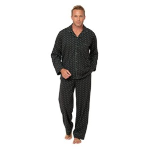 PajamaGram Mens Pajamas Cotton - Best Sleepwear for Men: Great for all year round