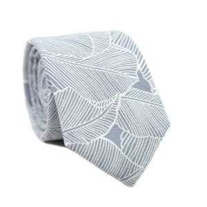 DAZI Palm - Best Ties for Charcoal Suit: Steals the spotlight