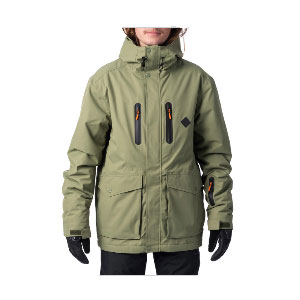 RIP CURL Palmer Anti-Series Snow Jacket - Best Raincoats Under 1000: Insulated Jacket and Durable Water-Repellent