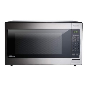 Panasonic Microwave Oven NN-SN966S Countertop/Built-In - Best Microwave for Dorm: Automatic genius sensor