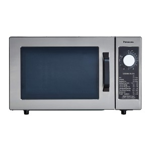 Panasonic NE-1025F Light-Duty Commercial Microwave Oven - Best Microwave for Seniors: Electronic dial timer