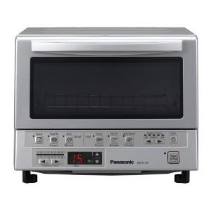 Panasonic FlashXpress Compact Toaster Oven with Double Infrared Heating - Best Electric Oven for Baking: Electronic Oven with Easy Control