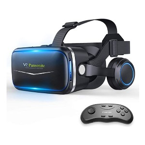 Pansonite VR Headset with Remote - Best VR for Beginners: For the right visual balance