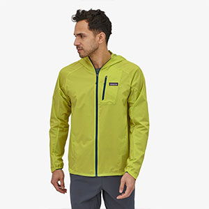 Pantagonia Men's Houdini® Air Jacket - Best Jacket for Wind: A one pull adjustable hood