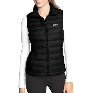 Patagonia Down Vest - Best Down Vests for Women: Windproof and Tear-Resistant Vest