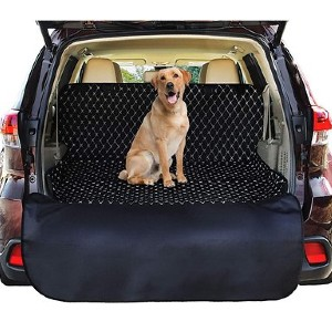 Pawple Waterproof Cargo SUV Dog Car Seat Cover - Best Dog Car Seat Covers: Comfortable Car Seat Cover