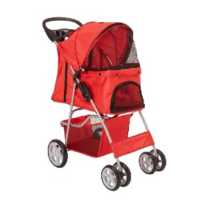 Paws & Pals City Walk N Stride  - Best Pet Dog Strollers: Multiple Windows for Breathability