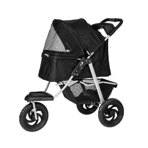 Paws & Pals Deluxe - Best Dog Strollers for Running: Includes Safety Features