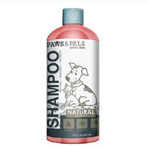 Paws & Pals Shea Butter & Aloe Vera Shampoo - Best Dog Shampoo for Itchy Skin: Natural Ingredient