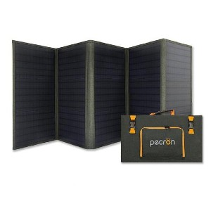 Pecron Aurora100 - Best Solar Panel for Backpacking: The most powerful