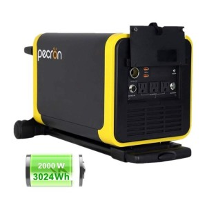 Pecron Q3000S - Best Portable Power Station with Solar Panels: Power most devices and appliances
