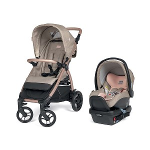 Peg Perego Booklet 50 - Best Stroller Car Seat Combo: Adjustable, Removable UPF 50+ Canopy