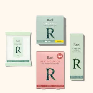 Rael  Period Essentials Set  - Best Organic Pads for Tweens: Safe for everyone