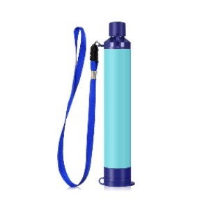 MIERSPORTS Personal Water Filter for Hiking - Best Water Filtration for Backpacking: Medical Hollow Fiber UF Membrane