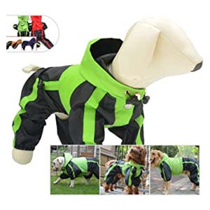 lovelonglong Dog Clothes Waterproof Raincoat  - Best Raincoats for Corgis: Unique and functional