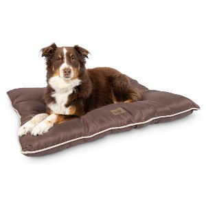 Pet Craft Supply Super Snoozer Calming Indoor / Outdoor All Season Water Resistant Durable Dog Bed - Best Dog Beds for Chewers: Fade-Resistant Polyester Material
