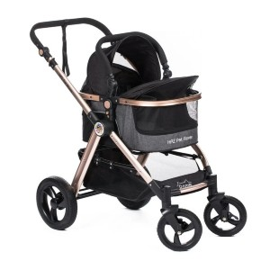Pet Rover Prime 3-in-1 - Best Dog Strollers for Small Dogs: Easy Maneuverability when Folded