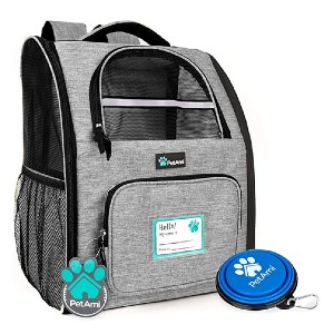 PetAmi Deluxe Pet Carrier Backpack - Best Pet Carrier for Small Dogs: Comfortable to carry