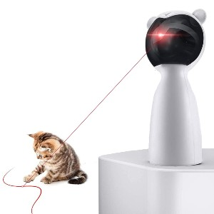 PetDroid Boltz Hanging Automatic Interactive Laser Cat Toy - Best Cat Laser Toys: Automatic Laser Cat Toy