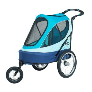 Petique Sailboat  - Best Dog Strollers for Running: High Quality Bike Tires
