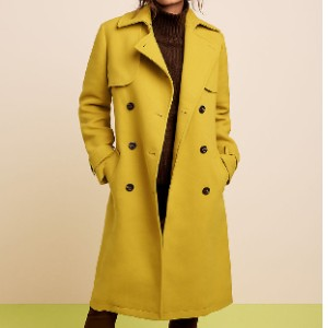 Ann Taylor Petite Belted Trench Coat - Best Trench Coats for Petites: Softly Fitted Coat