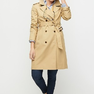 J.Crew Petite women's 2011 Icon trench - Best Trench Coats for Petites: Adjustable Belt at Waist