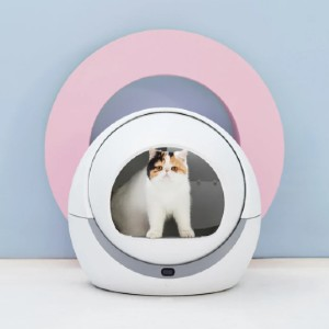 Petree  Automatic Self Cleaning Cat Litter Box - Best Self Cleaning Litter Box for Large Cats: Wire Reinforcement Treatment