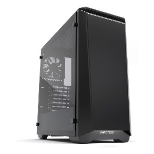 Phanteks PH-EC416PTG_BW Eclipse P400 - Best Cable Management PC Case: Fully Equipped with Magnetic Dust Filters