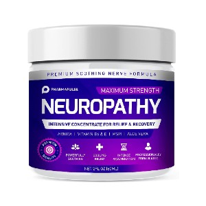 Pharmapulse Neuropathy Nerve Therapy & Relief Cream - Best Foot Creams for Neuropathy: Clinically Proven Cream