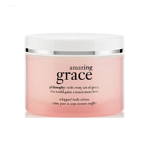 Philosophy Amazing Grace Whipped Body Creme - Best Fragrance Body Lotion: Lotion with aloe, olive fruit extract, and antioxidants
