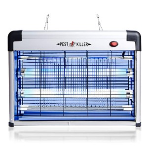 Phosooy Electric Bug Zapper - Best Bug Zapper for Moths: No odors, no mess