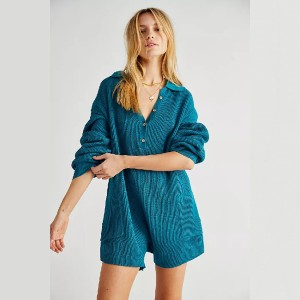 Free People Picnic Sweater Romper  - Best Loungewear Sets for Women: Effortlessly chic