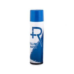 R Piercing Aftercare Spray - Best Cleaning Solution for Piercings: 100% Pure Saline Wash