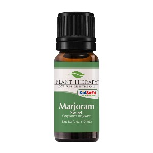Plant Therapy Marjoram Sweet Essential Oil - Best Aromatherapy for Anxiety: Comforting Marjoram Essential Oil
