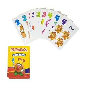 Playskool Flash Cards Value Pack  - Best Flashcards for Preschoolers: Convenient carry case