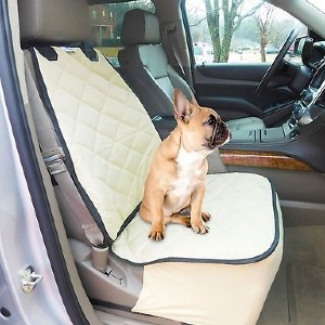 Plush Paws Products Quilted Co-Pilot Bucket Car Seat Cover - Best Dog Car Front Seat Covers: Easy Clean Seat Cover