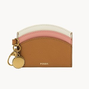 Fossil Polly Card Case - Best Card Holders Women: Made of Recycled Polyester
