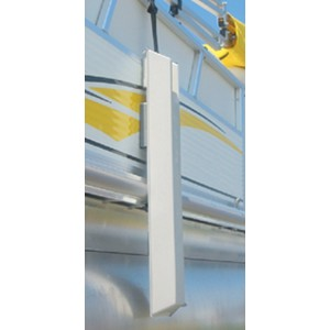 Hardin Marine Pontoon Fenders - Best Boat Fenders for Pontoon: Double Hook Attachment