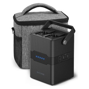 RAVPower Portable Power Station - Best Portable Power Station Under $200: Easy to carry around