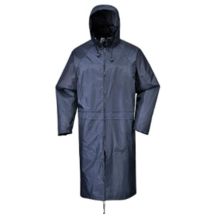 Portwest Classic Adult Rain Coat - Best Raincoats for Work: Raincoat with inner elasticated cuff