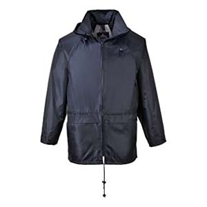 Portwest Men's Classic Rain Jacket - Best Raincoats for Iceland: Rain and snow is not a problem anymore