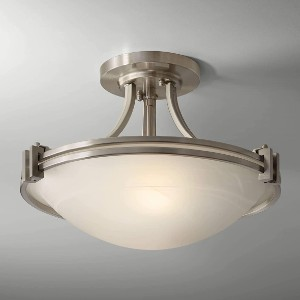 Possini Euro Design Deco Ceiling Light Semi Flush Mount - Best Ceiling Light for Kitchen: Elegant Ceiling Lamps
